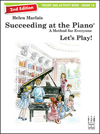 Succeeding at the Piano Theory and Activity Book - Grade 1A (2nd Edition)