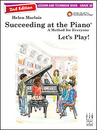 Succeeding at the Piano Lesson and Technique Book - Grade 2B (2nd Edition) (with CD)