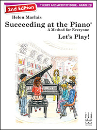 Succeeding at the Piano Theory and Activity Book - Grade 2B (2nd Edition)