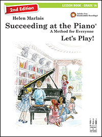 Succeeding at the Piano Lesson Book - Grade 1A (2nd Edition)
