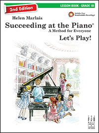 Succeeding at the Piano Lesson Book - Grade 1B (2nd Edition)