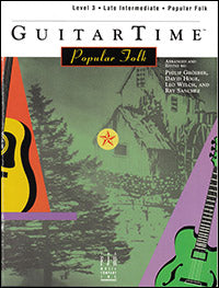 GuitarTime Popular Folk - Level 3 (Pick Style)