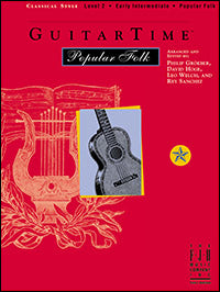 GuitarTime Popular Folk - Level 2 (Classical Style)