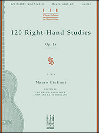 120 Right-Hand Studies (Giuliani)