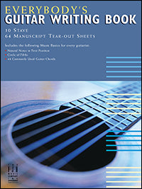 Everybody's Guitar Writing Book