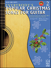 Everybody's Popular Christmas Songs For Guitar Book 2
