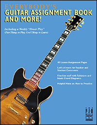 Everybody's Guitar Assignment Book and More!