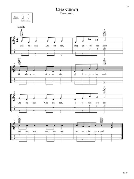 The Big & Easy Christmas Songbook for Ukulele with Tablature