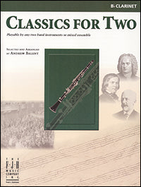 Classics for Two, Clarinet