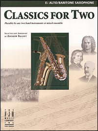 Classics for Two, Alto / Baritone Saxophone