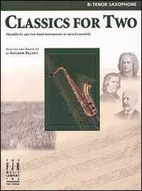 Classics for Two, Tenor Saxophone