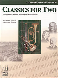 Classics for Two, Trombone / Baritone / Bassoon