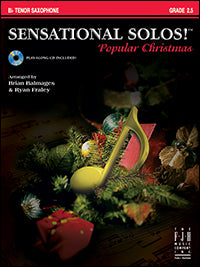 Sensational Solos! Popular Christmas - Tenor Saxophone (with CD)