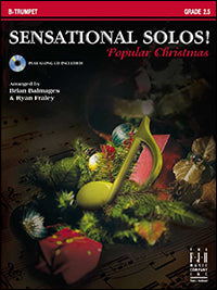 Sensational Solos! Popular Christmas - Trumpet (with CD)