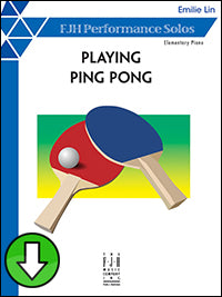 Playing Ping Pong (Digital Download)