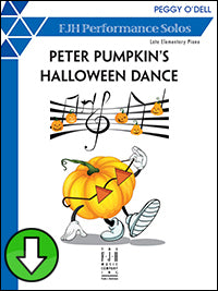 Peter Pumpkin's Halloween Dance (Digital Download)