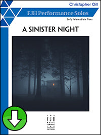 A Sinister Night (Digital Download)