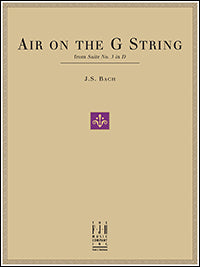 Air on the G String, from Suite No. 3 in D