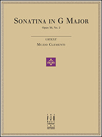 Sonatina in G Major, Op.36, No.2