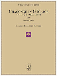 Chaconne in G Major, G229 (with 21 Variations)