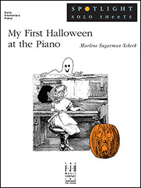 My First Halloween at the Piano