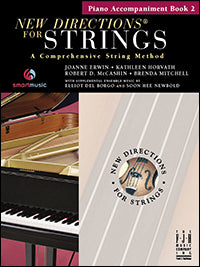 New Directions For Strings - Piano Accompaniment Book 2
