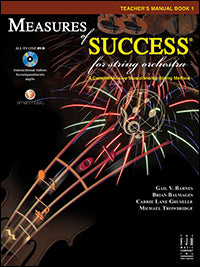 Measures of Success for String Orchestra - Teacher's Manual Book 1