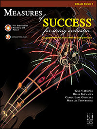 Measures of Success for String Orchestra - Cello Book 1