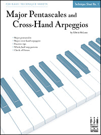 Major Pentascales and Cross-Hand Arpeggios