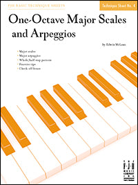 One-Octave Major Scales and Arpeggios