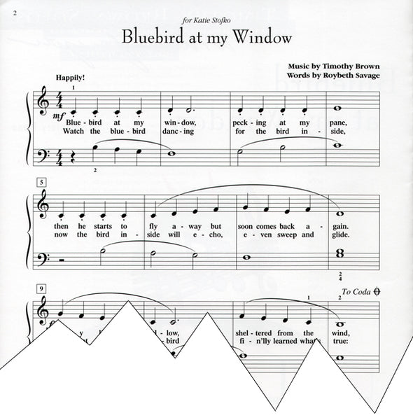 Bluebird at my Window (Digital Download)