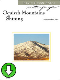 Oquirrh Mountains Shining (Digital Download)