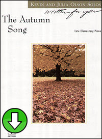The Autumn Song (Digital Download)