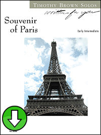 Souvenir of Paris (Digital Download)