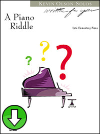 A Piano Riddle (Digital Download)