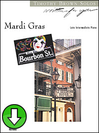 Mardi Gras (Digital Download)