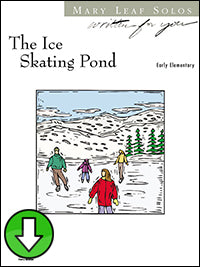 Ice Skating Pond (Digital Download)