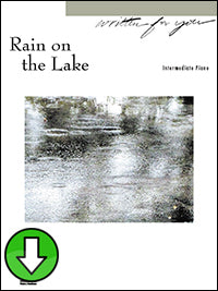 Rain on the Lake (Digital Download)