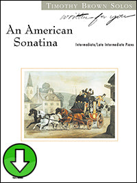An American Sonatina (Digital Download)