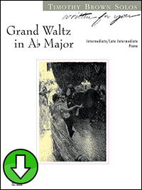 Grand Waltz in A-flat Major (Digital Download)