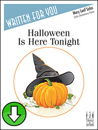 Halloween Is Here Tonight (Digital Download)