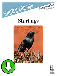 Starlings (Digital Download)