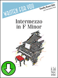 Intermezzo in F Minor