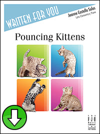 Pouncing Kittens (Digital Download)