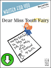 Dear Miss Tooth Fairy (Digital Download)