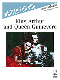 King Arthur and Queen Guinevere