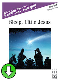 Sleep, Little Jesus (Digital Download)