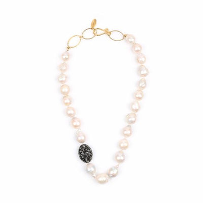 MONROE BAROQUE PEARL NECKLACE