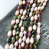 BLUSH PEARL & TOURMALINE
