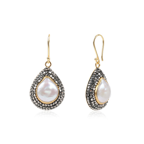Duchess Pearl Earrings